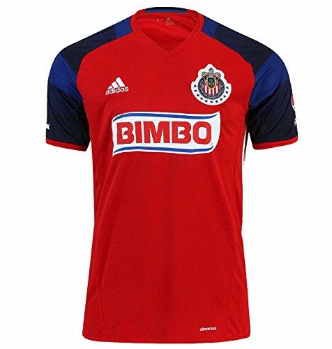 save off d9f34 a57c7 Amazon.com: Chivas de Guadalajara Home Adidas Soccer Jersey ...