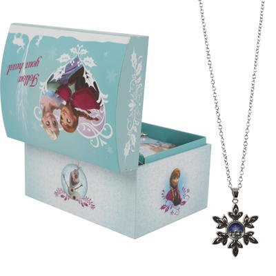 Disney Frozen Necklace Jewelry Box - Banded Box