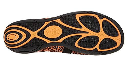 Ballop Barfußschuh Lasso orange Aquafit