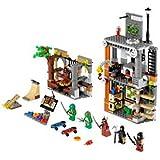 LEGO Teenage Mutant Ninja Turtles - 79103 - Jeu de Construction - L'attaque du Repère des Tortues