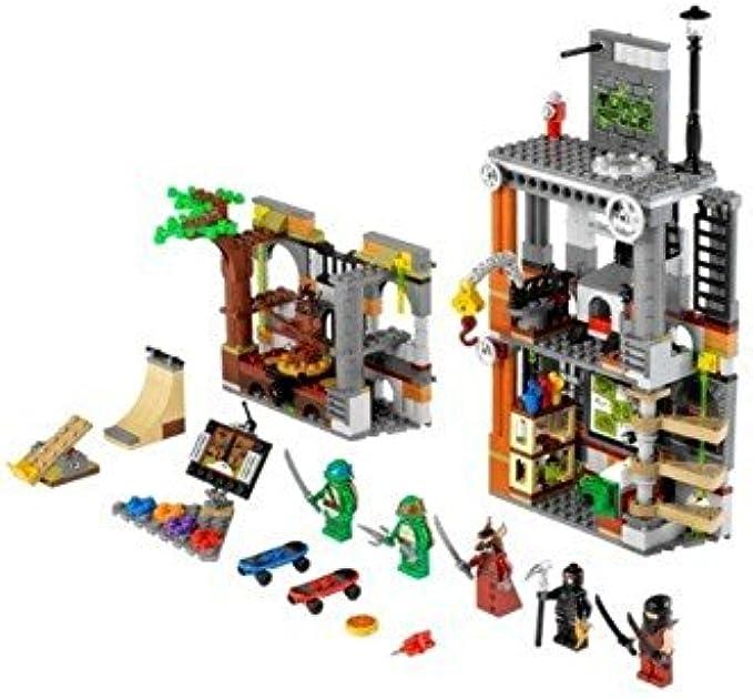 LEGO Ninja Turtles 79103 Turtle Lair Attack Minifigures