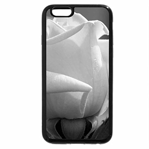 iPhone 6S Plus Case, iPhone 6 Plus Case (Black & White) - Rose