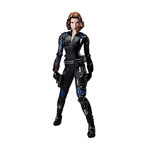 QYZHCP Black Widow Model Toys, Hot 15cm Superhero Avengers Animal Action Figure Toy Collection Box Gift