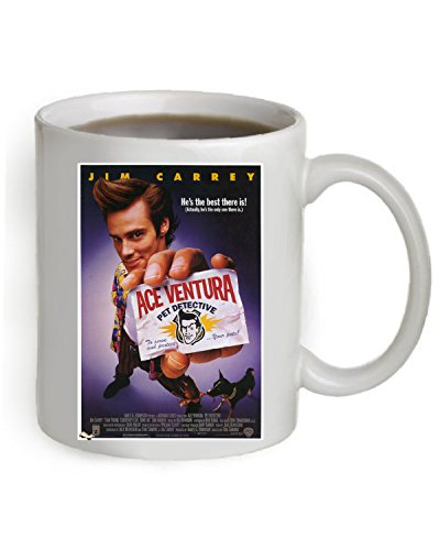 Ace Ventura Movie Poster Coffee Mug 11 OZ. (The Poster is printed on both sides of the Mug). #A069 (Ace Mug)
