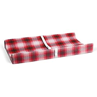 "Glenna Jean Lumberjack Flannel 16"" x 32"" Changing Pad Cover for Baby Nursery"