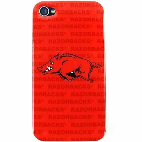 NCAA Arkansas Razorbacks Mascot Soft Iphone Case by Forever Collectibles by Forever Collectibles