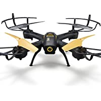 Owill D61 Photography 6 Axis Quadcopter Wifi FPV HD Camera 2.4Ghz Unmanned RC Aerial Helicopter (Yellow)