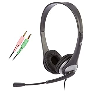Cyber Acoustics Stereo Headset, headphone with microphone, great for K12 School Classroom and Education (AC-201) (B0002QLQ96) | Amazon price tracker / tracking, Amazon price history charts, Amazon price watches, Amazon price drop alerts