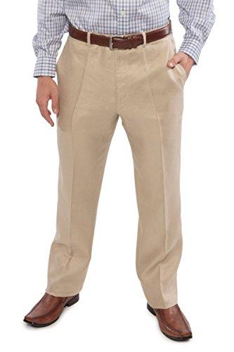 Natural Linen Pants - 9