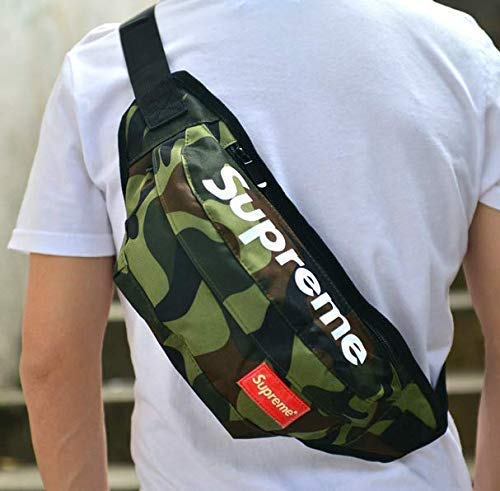 PPY Fanny Pack New Travel Bum Bags Running Pocket Sports Waist Bag for Men Women (camouflage)