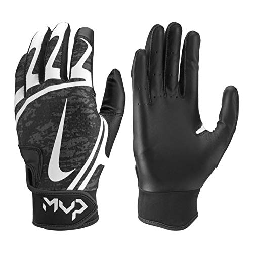 low priced a8533 bc79a Nike Women s Hyperdiamond Edge Batting Gloves (Black, Medium)