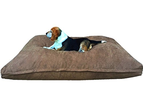 Dogbed4less XL Extra Large Memory Foam Dog Bed Pillow with O
