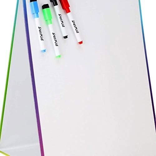 Supvox Doppelseitiges magnetisches Whiteboard für Kleinkinder pädagogisches Spielzeug zum Schreiben Zeichnen Lernen