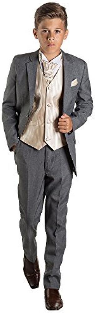 Paisley of London, niños traje gris, página niño traje, chaleco a ...