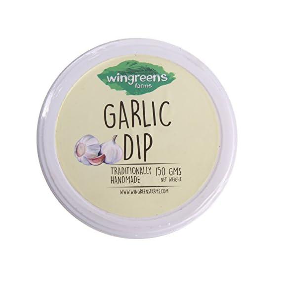 Wingreens Spread - Garlic Dip, 150g Pack