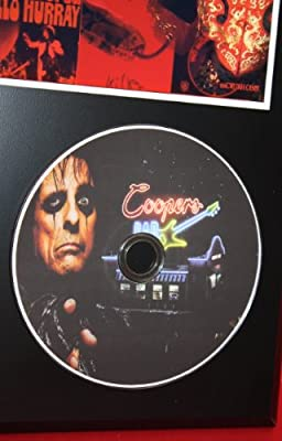 Alice Cooper Limited Edition Picture Disc CD Rare Collectible Music Display