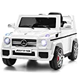 Costzon Kids Ride On Car, Licensed Mercedes Benz G65, 12V Battery Powered Electric