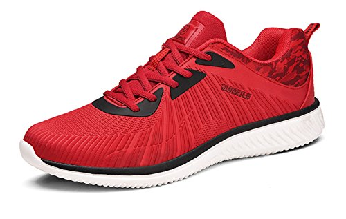 US Red D Shoes Sports 7 Lightweight Mens Outdoor Athletic Casual M Breathable Fashion Walking Shoes 6wvdf7qq