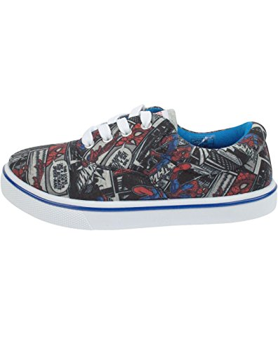 Marvel Spider-Man Comic Boys Trainers