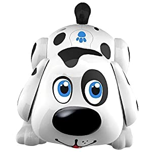 Electronic Pet Dog. Harry responds to touch with fun puppy activities, chasing, songs, and dog sounds. - 41jP7ltR2sL - Electronic Pet Dog Interactive Puppy – Robot Harry Responds to Touch, Walking, Chasing and Fun Activities