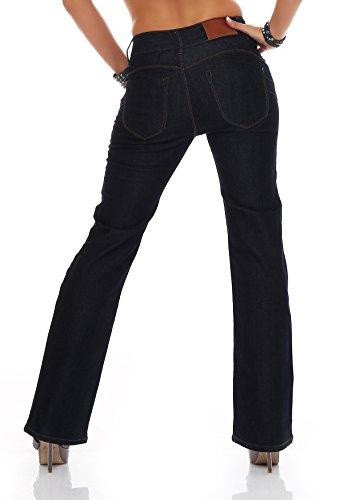 blue monkey femmes pantalon jeans bm3057 haute couleur W27/L34