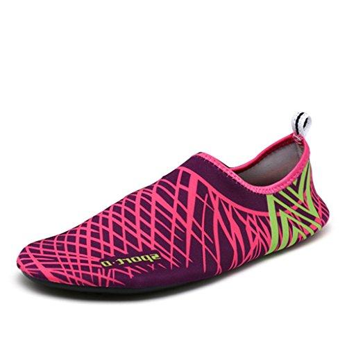 SAGUARO® Unisex Barfuß Schnelltrocknende Aqua Wasser Schuhe Strand Schwimmen Surf Yoga Übung Wohnungen Socken Schuhe