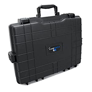Casematix Waterproof Laptop Hard Case for 15 – 17 inch Gaming Laptops and Accessories – Rugged Heavy Duty Laptop Case…