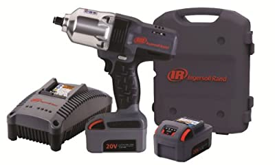 Ingersoll Rand W7150-K2 1/2-Inch High-Torque Impactool, Charger, 2 Li-ion Batteries and Case Kit - Power Impact Wrenches -