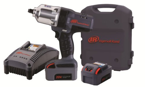 Ingersoll Rand W7150-K2 1/2-Inch High-Torque Impactool, Charger, 2 Li-ion Batteries and Case - Rand Ingersoll Case