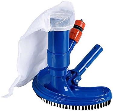 HAFIX Bodensaugbürste für schnelle Reinigung von Pool, Whirlpool Boden und Wänden