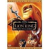 The Lion King (DVD, 2003, 2-Disc Set, Platinum Edition)