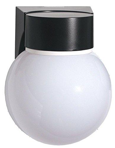 (Rab Vc100pb/f13 Vaporproof 13w Cfl 120v Ceiling Decorative + White Gl )