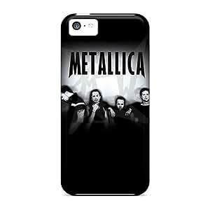 JasonPelletier Iphone 5c Best Hard Phone Case Support Personal Customs Realistic Metallica Pattern [CEk12790yoFu]