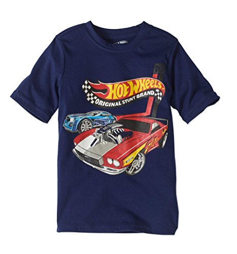 Hot wheels Boys Graphic Shirt Fun Styles Sizes 4-7