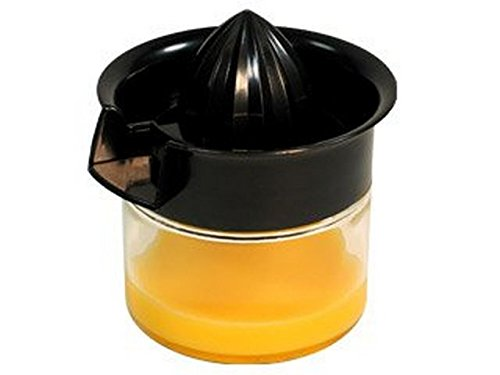 SevyCitrus Juicer 14 Oz. Glass Container Plastic Reamer