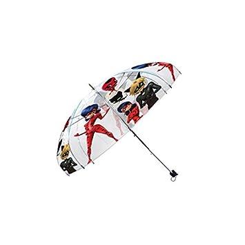 Disney Ladybug paraguas transparente automático, lb17041, ...