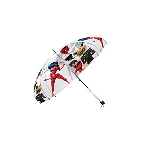 Disney Ladybug ombrello trasparente automatico, lb17041, 19 ' 19 KIDS EUROSWAN