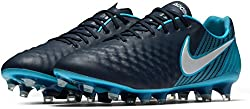 Nike Magista Opus Ii Fg Firm Ground Men Soccer Cleat-obsidian White Size: 9.5