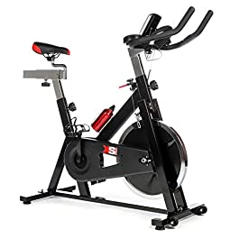 XS Sports Aerobic Indoor Training Exercise Bike-Fitness Card...