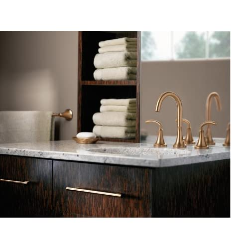 Moen T6520 Icon Two-Handle High Arc Bathroom Faucet, Chrome (Not ...