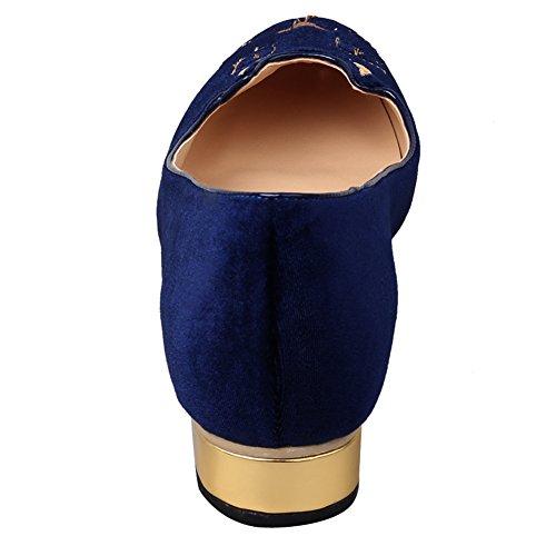 Jushee Jushee mujer Azul Sandalias mujer Azul Sandalias Jushee wIqB86Sd7