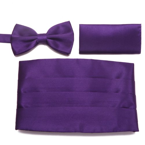 HDE Tuxedo Formal Cumberbund Pocket