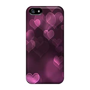 CvqGLti4822DxNBG Case Cover Protector For Iphone 5/5s Floating Hearts Case