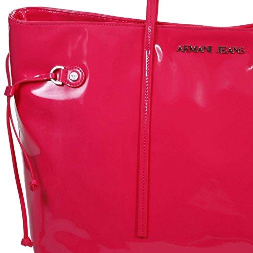 Borsa Armani Jeans vernice