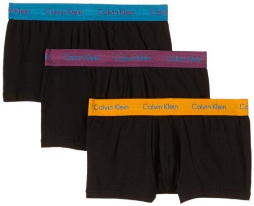 Calvin Black De Body Klein Multicolore Lot W Uni ysw 3 Underwear Blue Boxer Homme Wattage 1 PwPUA4rx