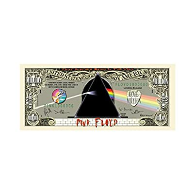 American Art Classics Pink Floyd Limited Edition $Million Dollar$ Collectible Bill in Currency Protector - Novelty Merchandise - Fun Collectable: Toys & Games