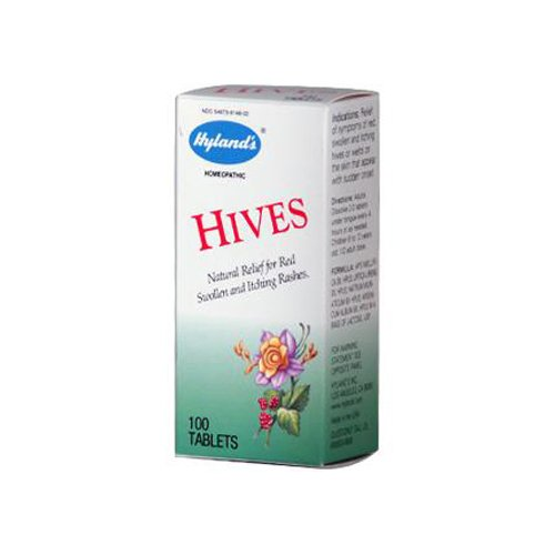 New - Hyland's Hives - 100 Tablets