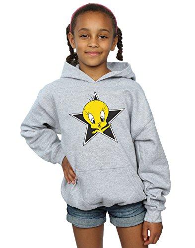 Looney Tunes Girls Tweety Pie Star Hoodie 12-13 Years Sport - Tweety Hoodie