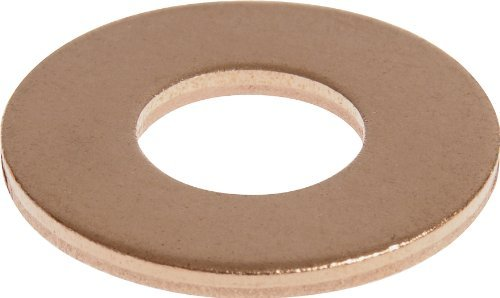 The Hillman Group 44138 #4 Copper Flat Washer, 100-Pack (2)