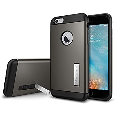 Spigen Air Cushion Corners Cell Phone Case for Apple iPhone 6 Plus/6s - Retail Packaging from Spigen, Inc.